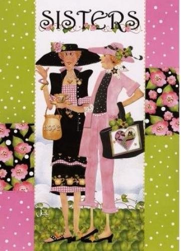 Sisters Greeting Card GC09