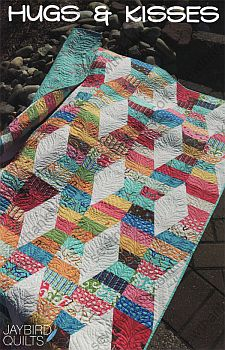 Hugs and Kisses Pattern by Jaybird Quilts