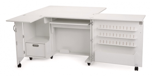 Kangaroo Kabinets Wallaby II Sewing Cabinet White Drop Ship - 650873841103 Quilt...