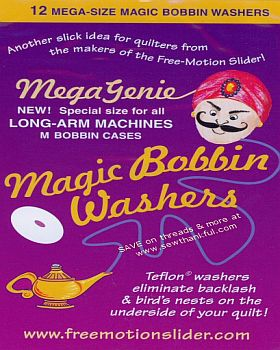 MEGA Genie Magic Bobbin Washers (for longarm)