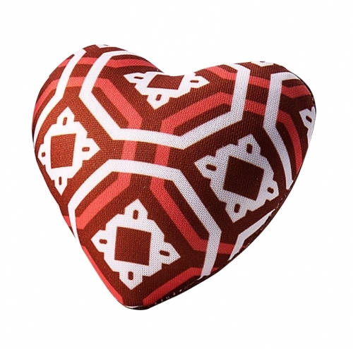 Sew Easy Heart Pin Cushion  - Red