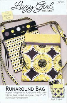 Lazy Girl Designs: Runaround Bag 818210001119 - Quilt in a Day Patterns