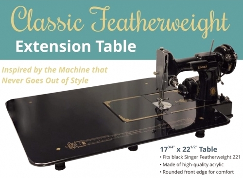 Classic Featherweight 18 x 22 Table