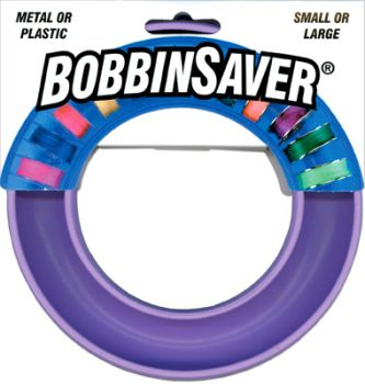 BobbinSaver- Purple Regular Size (13/16) Plastic or Metal