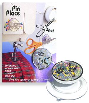 Scissor Spot - Pin Place Magnet