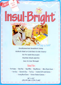 Insul-Bright Insulated Lining 45 x 1 yard