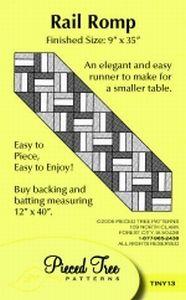 Rail Romp Pattern Card