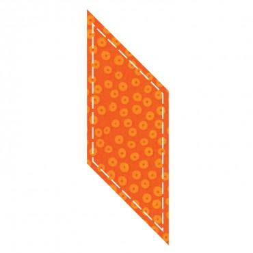 Accuquilt GO! Die Parallelogram 3.75 x 3.5   55004