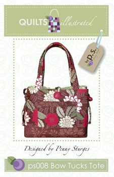 Bow Tucks Tote Pattern