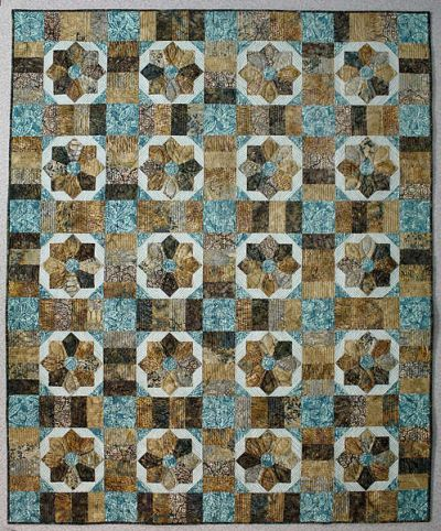 Cut Loose Press - Surf and Sand Quilt Pattern CLPPHA003 - Quilt in a Day Pattern...