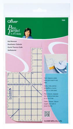 Clover Hot Hemmer / Press Perfect by Joan Hawley - 051221778063 Quilting Notions