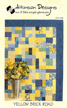 Atkinson Designs: Yellow Brick Road - Fat Quarter Friendly Pattern!