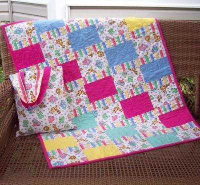 Baby Blanket & Reversible Tote Pattern