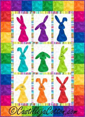 Bunnies Galore Quilt Pattern CJC-44614