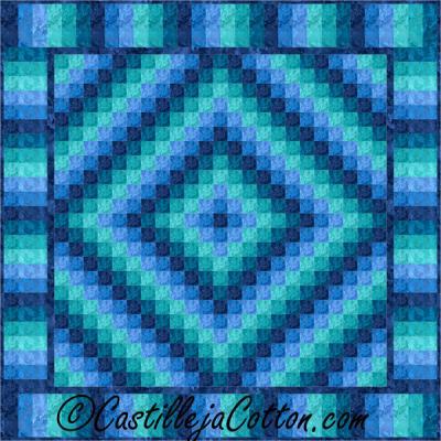 Double Trip Quilt Pattern