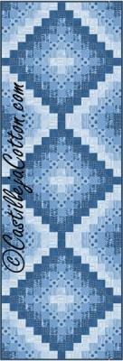 Eight FQ Trip Runner Quilt Pattern CJC-51941