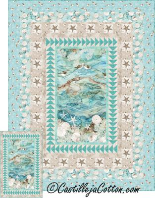 Sandy Beach Quilt Kit