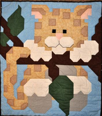 Leopard Quilt Pattern CQ-058