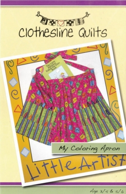 My Coloring Apron Pattern