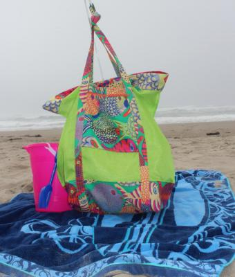 Charleston Beach Bag Pattern KQD-124