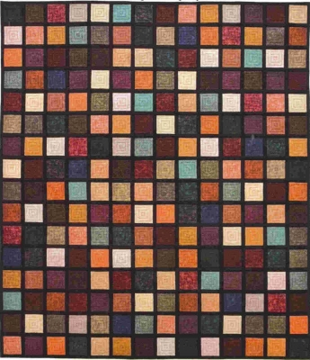 Paintbox Squares Pattern LCQ-149