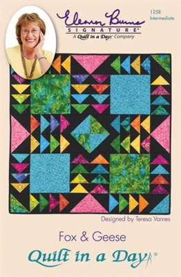 Fox & Geese Quilt Pattern by Quilt in a Day