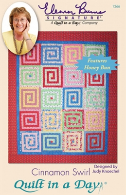 Cinnamon Swirl Quilt Pattern by Quilt in a Day