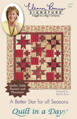 A Better Star For All Seasons Pattern by Quilt in a Day