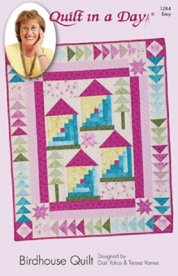 Birdhouse Quilt Pattern by Quilt in a Day