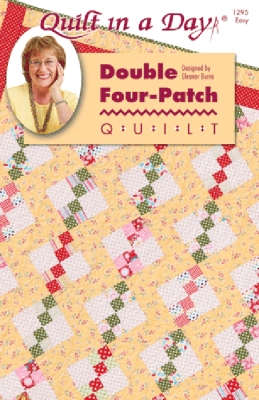 Double Four-Patch Quilt Pattern by Quilt in a Day
