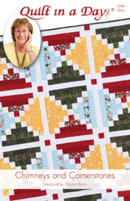 Chimneys and Cornerstones Quilt Pattern by Quilt in a Day