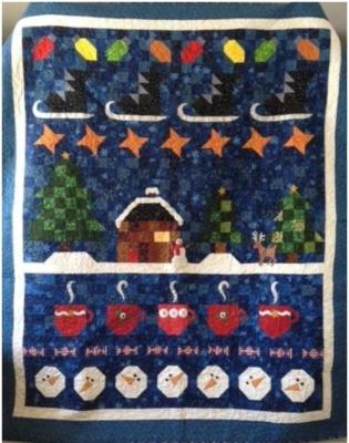Minnesota Winter Wonderland BOM Quilt Pattern QD2-134
