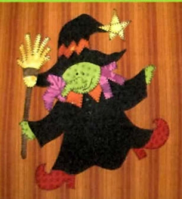 Witchy Poo PDF Pattern QD2-202
