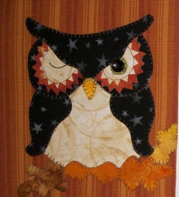 Halloween Owl Pattern PDF Pattern