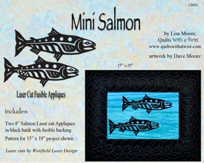 Mini Salmon Black Pair-Black
