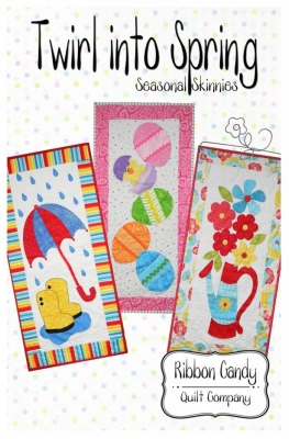 Twirl into Spring Skinnies Quilt Pattern