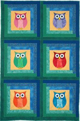 Whoo's in the Cabin  by Spring Creek NeedleArt