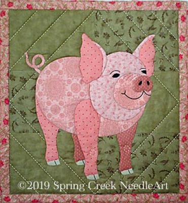 Pippa Pig Quilt Pattern SCN-2079 Spring Creek