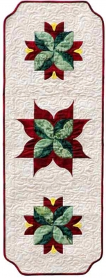 *Enchanted Rose Table Runner Pattern SWD-413