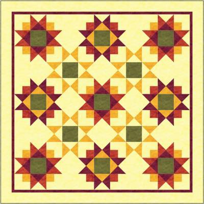 SunKissed Quilt Pattern TRQ-139