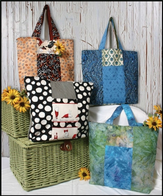 Six Pack Stack Tote Pattern WHC-1144