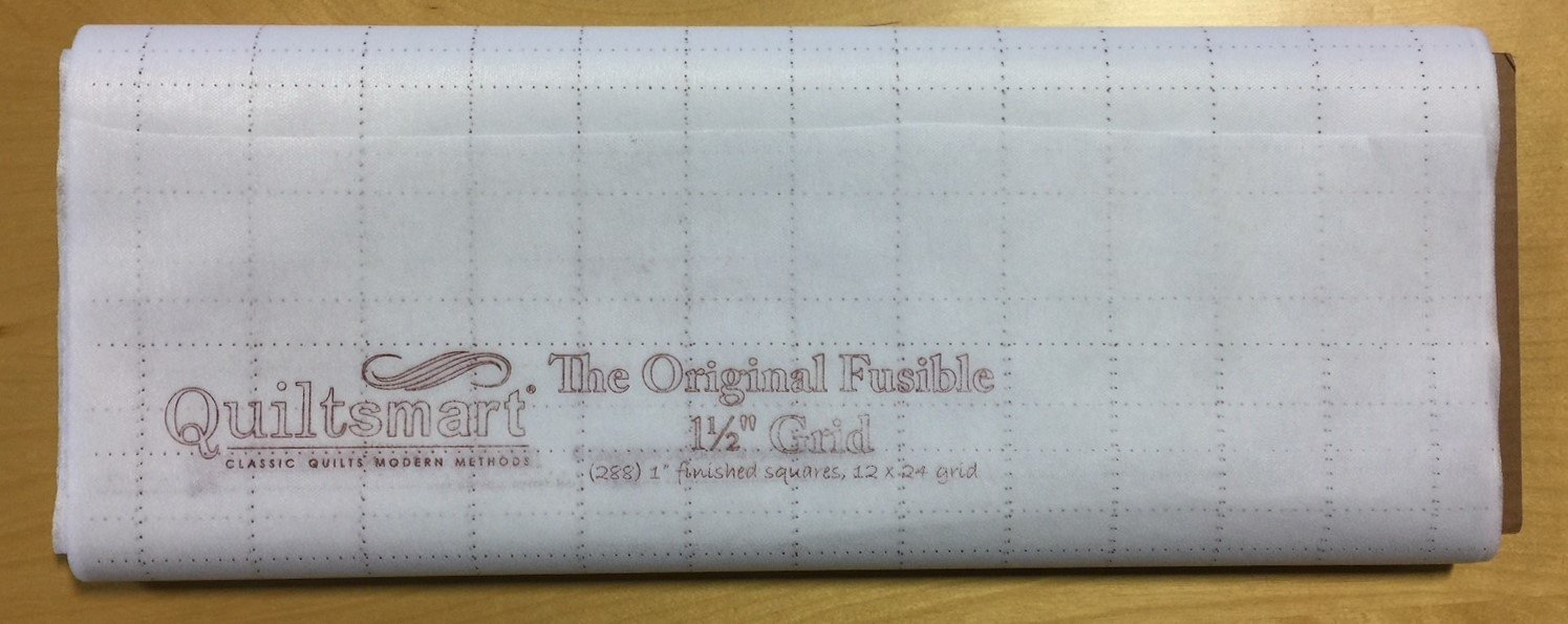 Quiltsmart 1 1/2 Gridded Fusible Interfacing