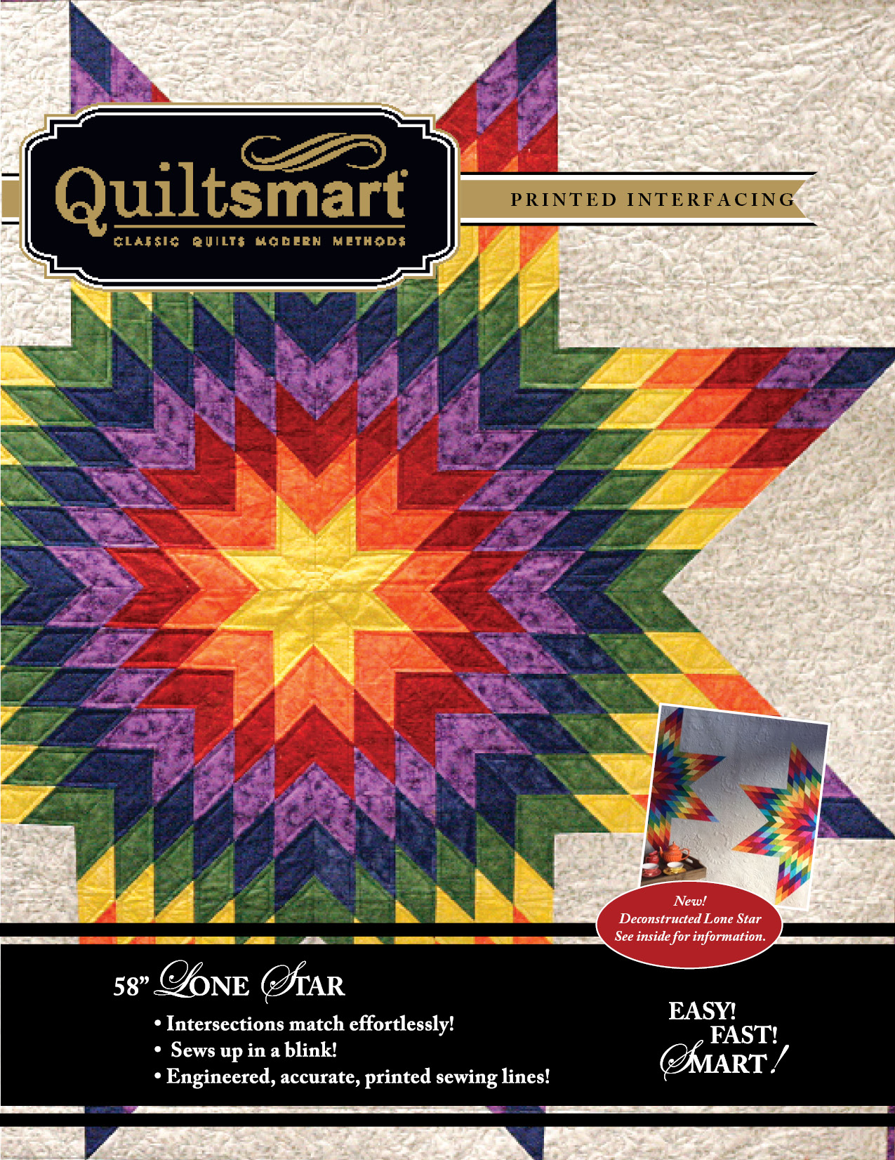 Lone Star 58 Classic Pack Quiltsmart