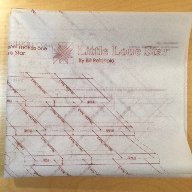 38 Lone Star Printed Interfacing Priced per panel
