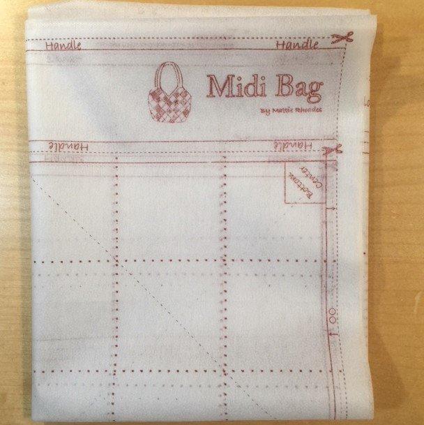 MODA QUILTSMART MIDI BAG INTERFACING 65040