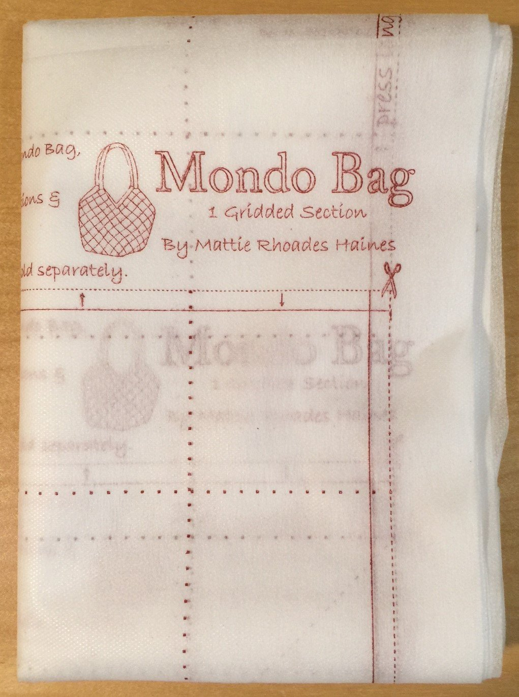 Mondo Bag Interfacing Panels