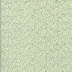 0206-007 Home Essentials - Swirl - Blue Fabric