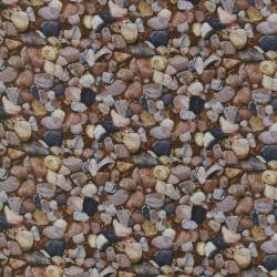 1417-001 Danscapes - Rocks - Multi Fabric