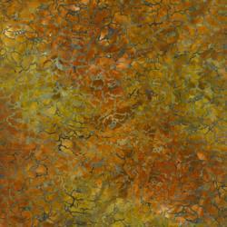 rjr 1766-008 Best Of Malam Batiks - New Peony - Teal Fabric
