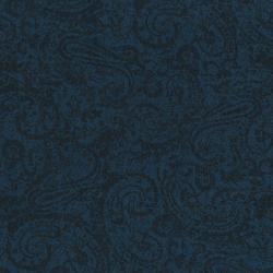 2452-011 Delhi - Tonal Paisley - Deep Blue Fabric